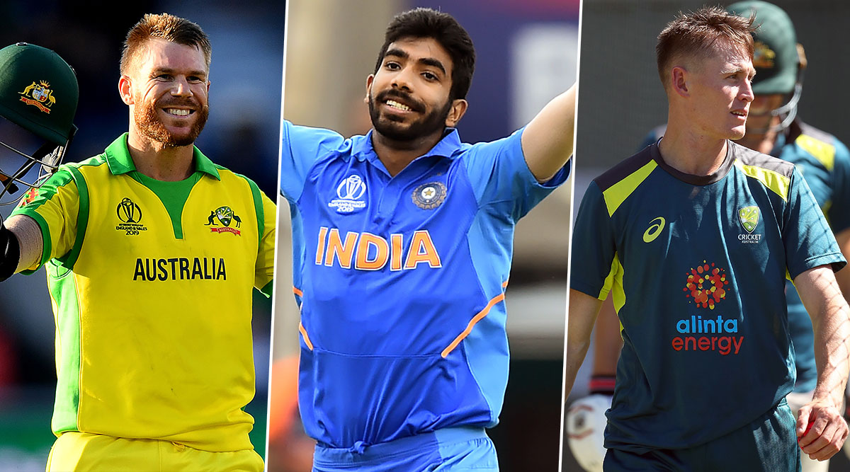 India vs Australia, 1st ODI 2020, Key Players: David Warner, Jasprit Bumrah, Marnus Labuschagne and Other Cricketers to Watch Out for in Mumbai
