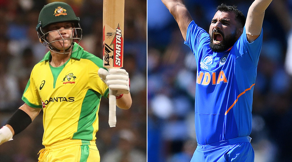India vs Australia 2nd ODI 2020: David Warner vs Mohammed Shami, Virat Kohli vs Adam Zampa and Other Exciting Mini Battles to Watch Out for in Rajkot