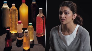 Deepika Padukone's Social Experiment on Illegal Sale of Acid is Scary and Alarming! (Watch Video)