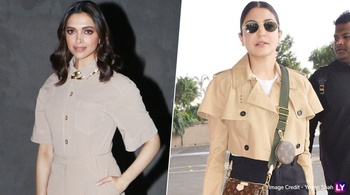 Deepika Padukone and Anushka Sharma in Beige Casuals! Whose Classy Number Did You Like The Most? (View Pics)