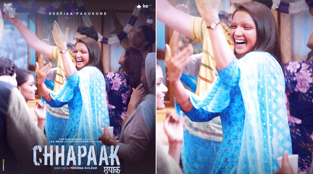 Chhapaak Poster: Deepika Padukone as Malti Reminds All That No One Can Stop You From Being Happy! (View Pic)