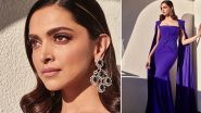 Deepika Padukone Looks Like a Dream In Beautiful Blue Gown by Alex Perry at Davos 2020 (View Pics)