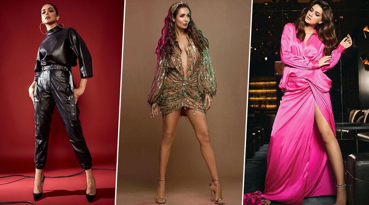 Deepika Padukone, Malaika Arora, Kriti Sanon, Kareena Kapoor Khan, Anushka Sharma Make the Best Fashion Choices in the First Week of 2020! (View Pics)