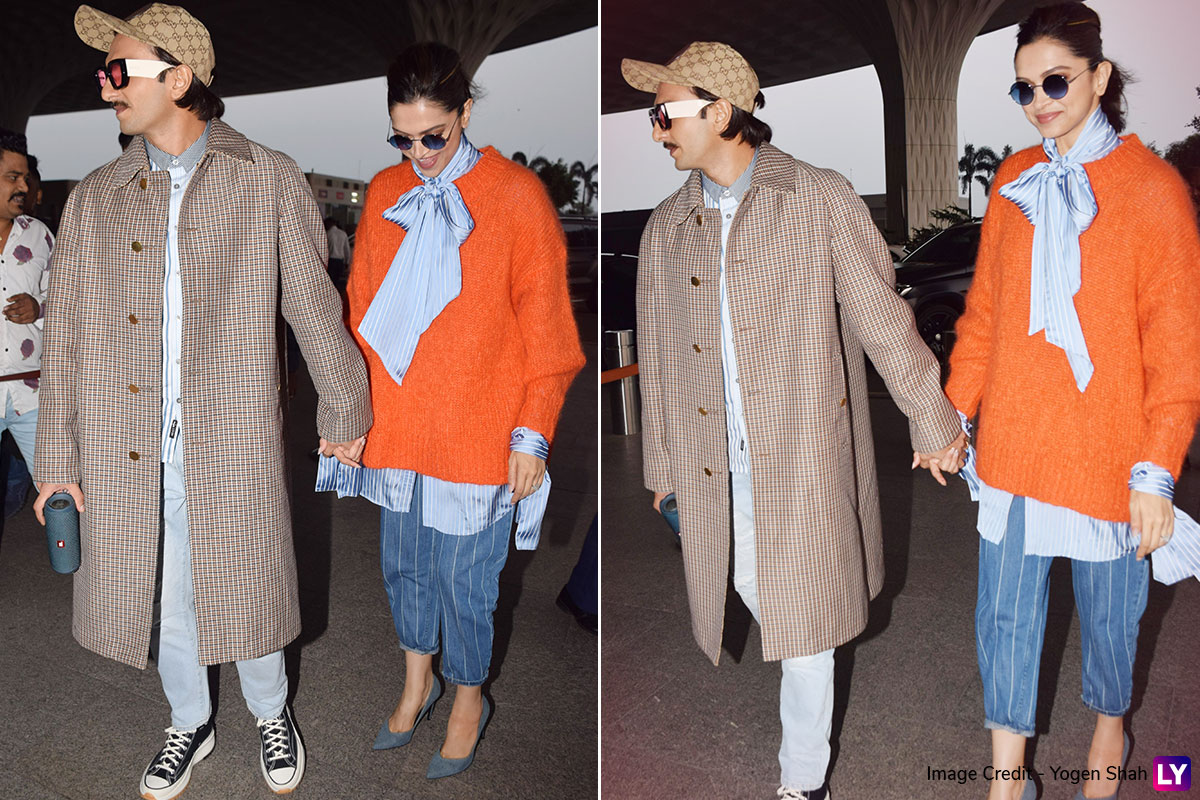 Deepika Padukone Nails Slouchy And Sleek All In One Perfect Airport Look!