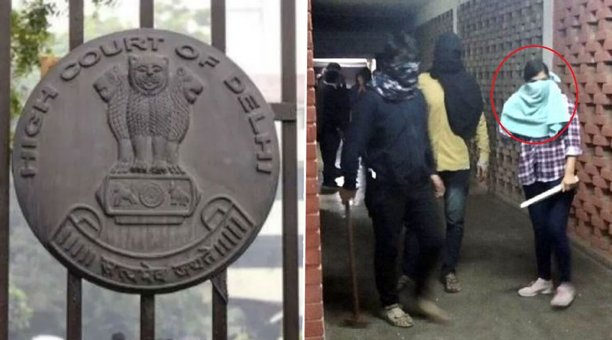 JNU Violence: Delhi High Court Issues Notice to Apple, WhatsApp and Google on Petition of Three JNU Professors Seeking 'Preservation' of January 5 CCTV Footage