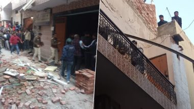 Delhi: Under Construction Building in Bhajanpura, 7 Fire Units Reach Spot to Rescue Students