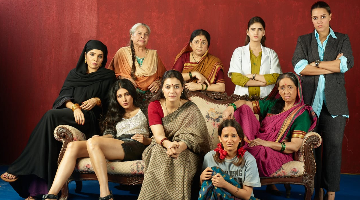 Devi First Look: Kajol, Neha Dhupia, Mukta Barve and Six Other Women Unite To Tell Tragedy Tales In This Short Film (View Pic)