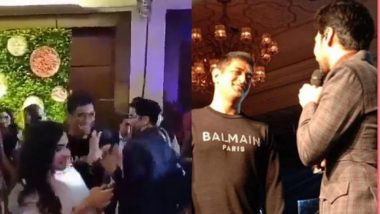 MS Dhoni Shies Away After Aarman Malik Invites him On-Stage During an Event (Watch Video)