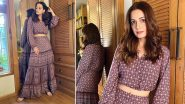 Thrifty Style: Dia Mirza Swirls, Twirls and Whirls in a Global Desi Ensemble!