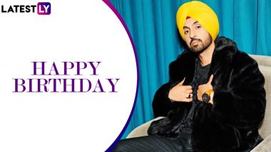 Diljit Dosanjh Birthday: Ikk Kudi, Ishq Di Baajiyaan – 5 Popular Songs of One of the Leading Artists in the Indian Music Industry