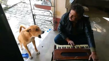 Dog Sings Ranu Mondal's 'Teri Meri Kahani' With Man, Viral Clip Impresses Netizens
