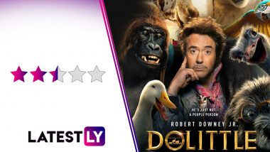Dolittle Movie Review: Robert Downey Jr, an Exciting Voice-Cast 'Do Little' to Make This Kiddie Flick Entertaining Beyond Sparse Jokes
