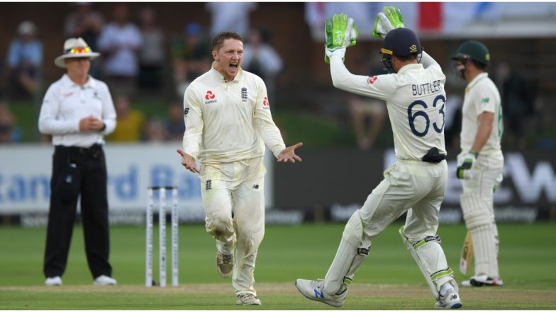 South Africa vs England Live Cricket Score, 3rd Test 2019–20, Day 3: Get Latest Match Scorecard and Ball-by-Ball Commentary Details for SA vs ENG Test From Port Elizabeth
