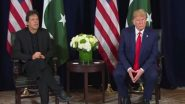 US President Donald Trump Meets Pakistan Prime Minister Imran Khan at Davos After Offering to 'Help' on Kashmir Issue