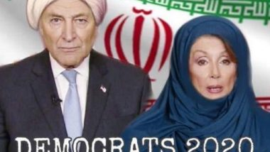 Donald Trump Shares Photoshopped Image of Nancy Pelosi Wearing Hijab, Draws Ire of Twitter Users