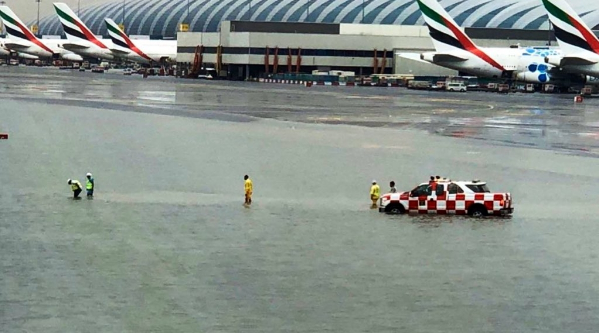 Dubai Floods: People Trapped Inside Houses as Torrential Rains Trigger Flooding in Dubai