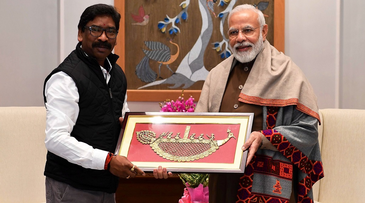 Hemant Soren Meets PM Narendra Modi, Urges Him to Take Care of Jharkhand