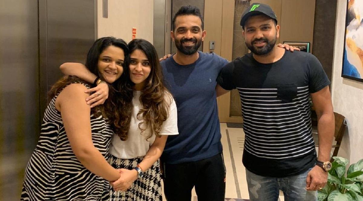 Rohit Sharma, Ajinkya Rahane Talk About Their Daughters Over Dinner