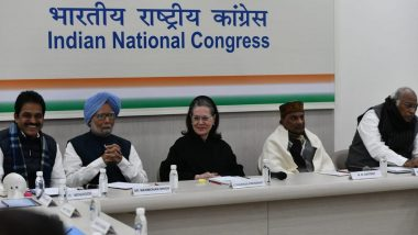 Congress Working Committee Meets in Delhi, Likely to Discuss Anti-CAA Protests