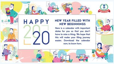 Income Tax Department Sends E-Calendar to Taxpayers Ahead of New Financial Year Highlighting Important Dates For Tax-Related Deadlines