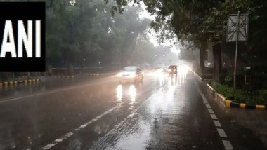 Delhi Rains: Waterlogging, Traffic Snarls, Incidents of Wall Collapse Reported at Several Places in National Capital