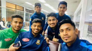 PAK vs BAN T20I Series 2020: Mustafizur Rahman Requests Fans to Pray for Team As They Head to Pakistan