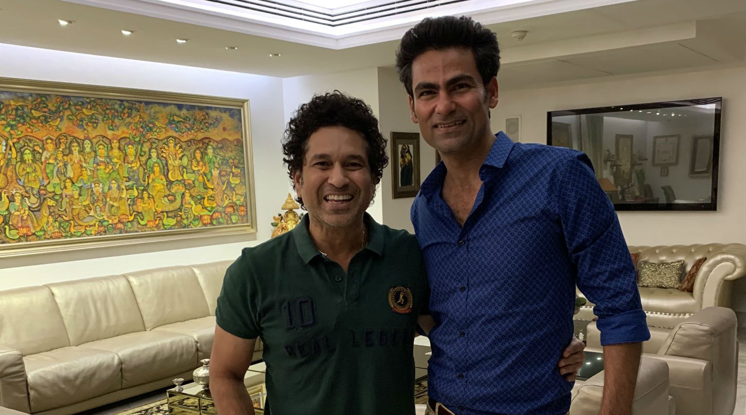 Mohammad Kaif Terms Sachin Tendulkar as 'Lord Krishna,' Win Hearts