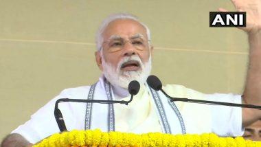 PM Narendra Modi Praises Tamil Nadu Govt's Initiatives to Control Coronavirus, Congratulates CM E Palaniswami