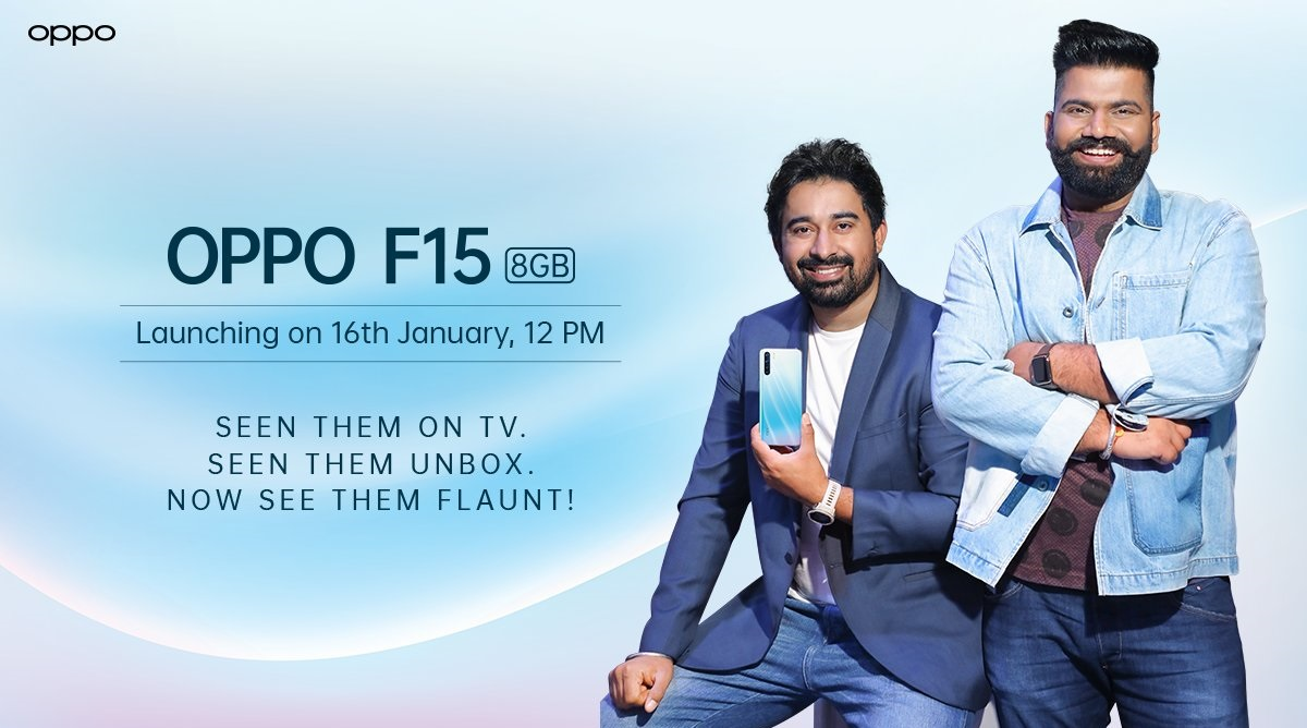 Oppo F15 Smartphone Launching Today in India; Watch LIVE Streaming of Oppo's New Smartphone Launch Event