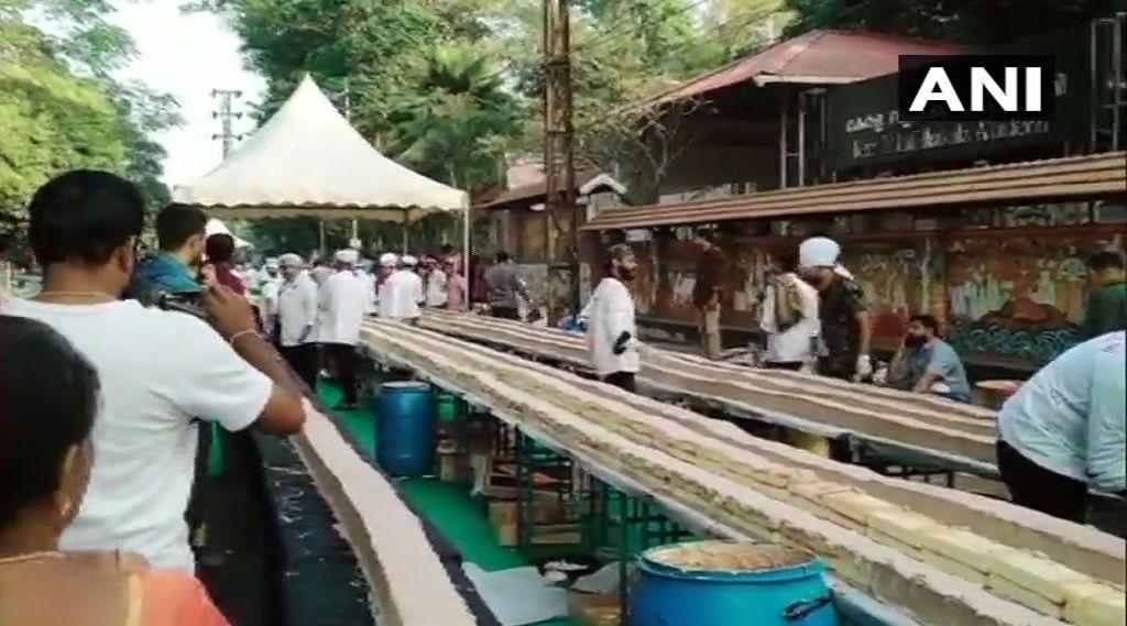 Kerala Chefs Make World's 'Longest' Cake Measuring 6.5 Kilometres in Thrissur