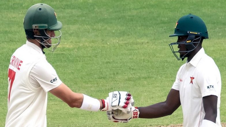 Sri Lanka vs Zimbabwe 1st Test 2020: ZIM Show Grit on Day One to Post 189/2 Against SL