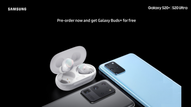 Customers Pre-ordering Samsung Galaxy S20+, Galaxy S20 Ultra Reportedly Will Get free Galaxy Buds Plus