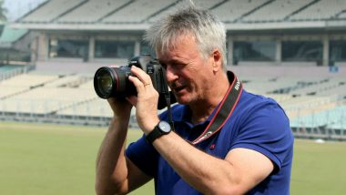 Steve Waugh Returns to Eden Gardens as Photographer During Ranji Trophy Match Between Bengal vs Delhi