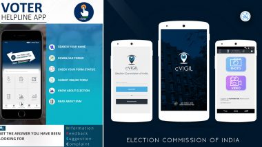 Voter Helpline App and cVIGIL App of ECI Bag 'Award of Excellence'