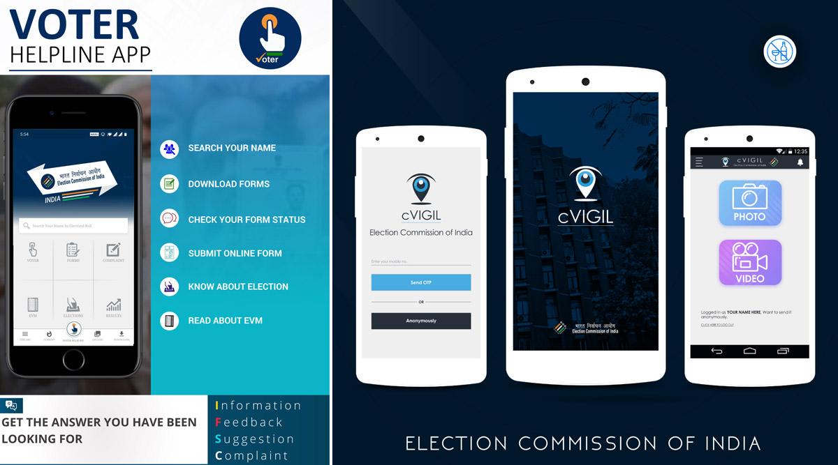 Voter Helpline App and cVIGIL App of ECI Bag 'Award of Excellence'