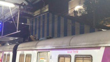 Mumbai: Man Travelling on Roof of Local Train Dies of Electrocution in Ghatkopar