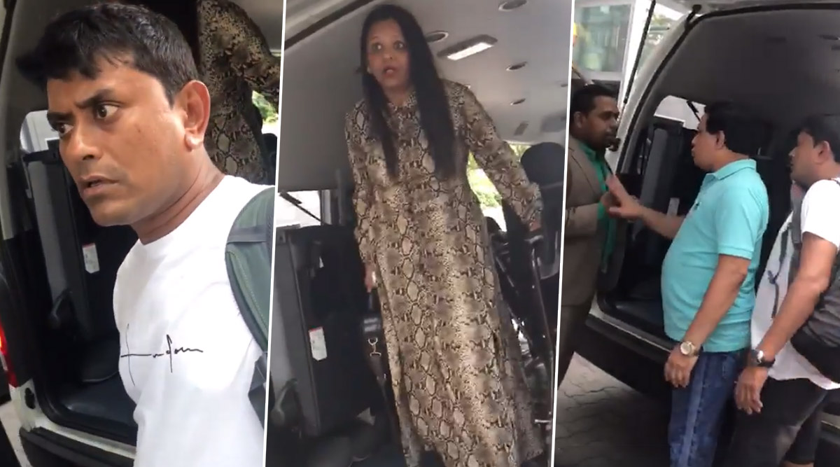 Indian Tourists Involved in Heated Argument With Singapore Bus Driver Allegedly Over Carrying Extra Load, Video Goes Viral