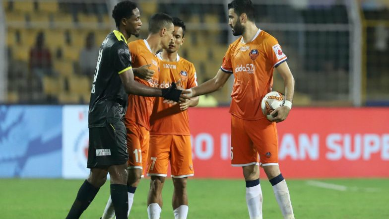ISL 2019–20 Match Result: FC Goa Beat Kerala Blasters 3–2 to Go at Pinnacle of Points Table