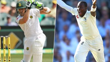 South Africa vs England 2nd Test 2020: Faf du Plessis vs Jofra Archer and Other Exciting Mini Battles to Watch Out for in Cape Town