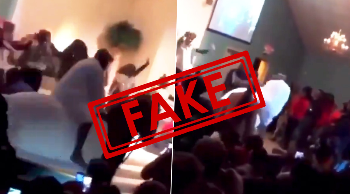 Fact Check: Kanye West Fell off a Horse While Arriving at His Sunday Service? Kim Kardashian Furious Over the Fake Video Circulating on Twitter