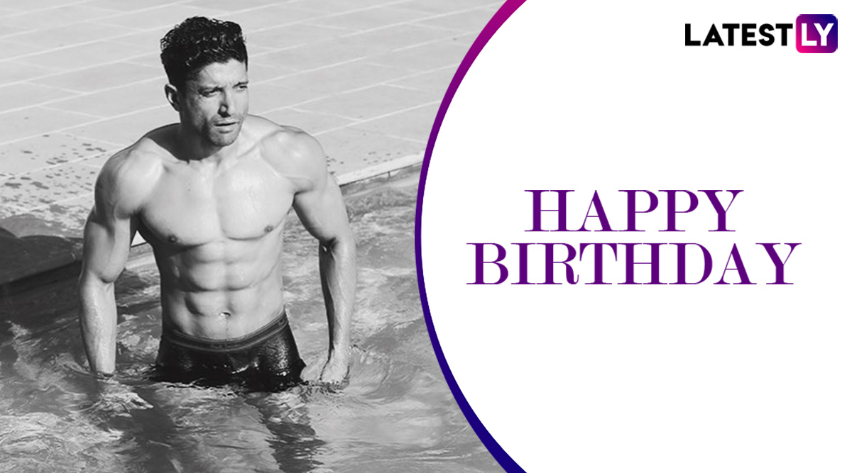 Farhan Akhtar Birthday Special: Know Fitness Secret of Bollywood Actor's Lean Muscular Physique