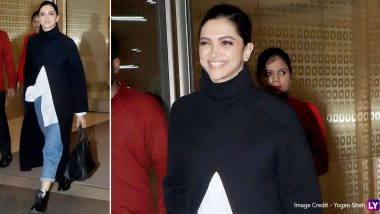 Allow Deepika Padukone to Demonstrate the Subtle Art of Mastering Monochrome With Her Airport Style!
