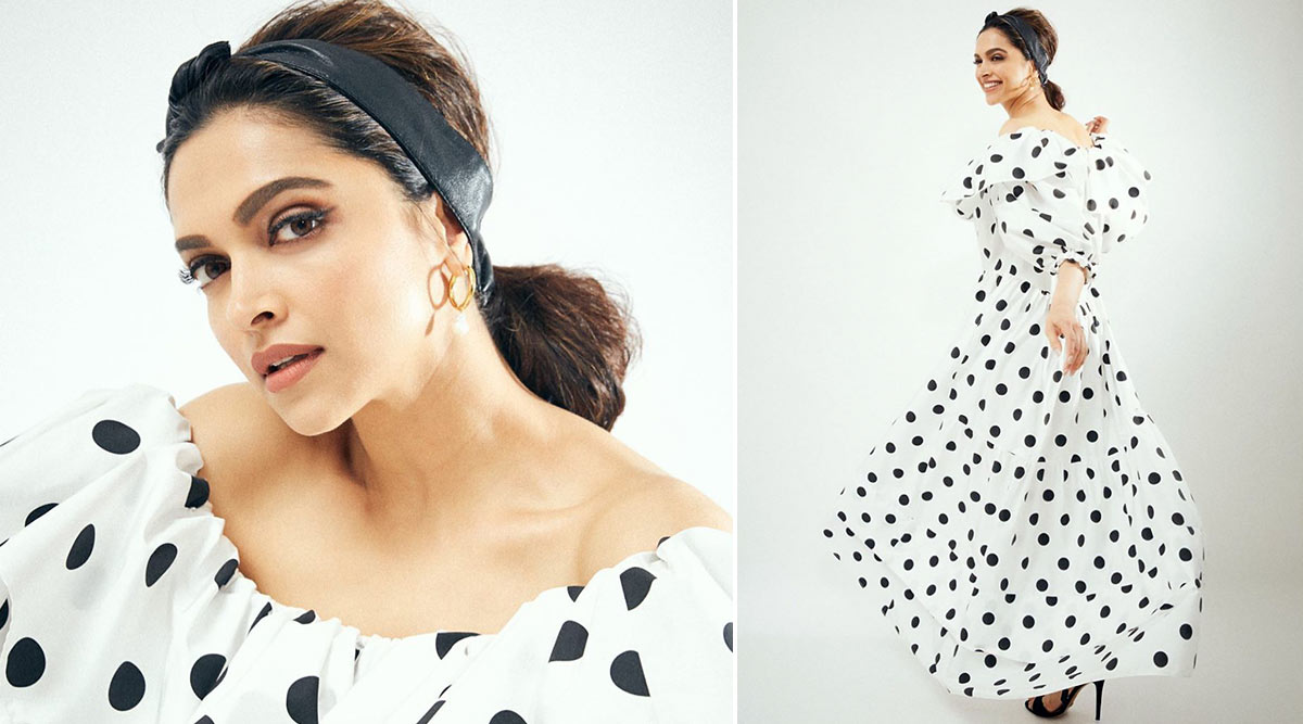 Deepika Padukone and Her Perfectly Pretty Frills, Polka Dot and Headband Indulgence Are What You Need to Drive Closer to the Weekend!