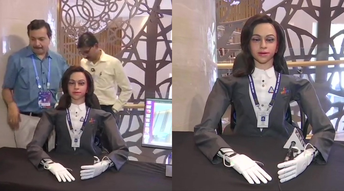 ISRO Unveils First Glimpse of Female 'Vyommitra' Humanoid For Gaganyaan Mission, Watch Video