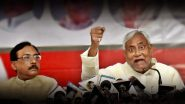 Nitish Kumar Hits Back at Sulking Pavan Kumar Varma For Speaking Against CAA And JDU-BJP Alliance, Says 'You Can Join Any Party You Like'
