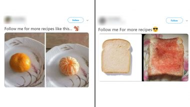'Follow Me For More Recipes' is The Latest Twitter Trend With Funny Memes on People's Lazy Cooking Skills