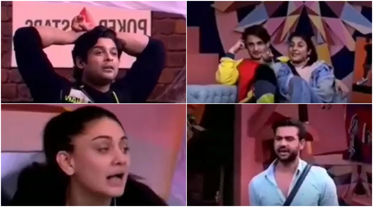 Bigg Boss 13 Day 116 Preview: Shehnaaz Gill Violently Pushes Sidharth Shukla and Vishal Aditya Singh Gets Declared as a 'Confused' Sanchalak of the Season (Watch Video)