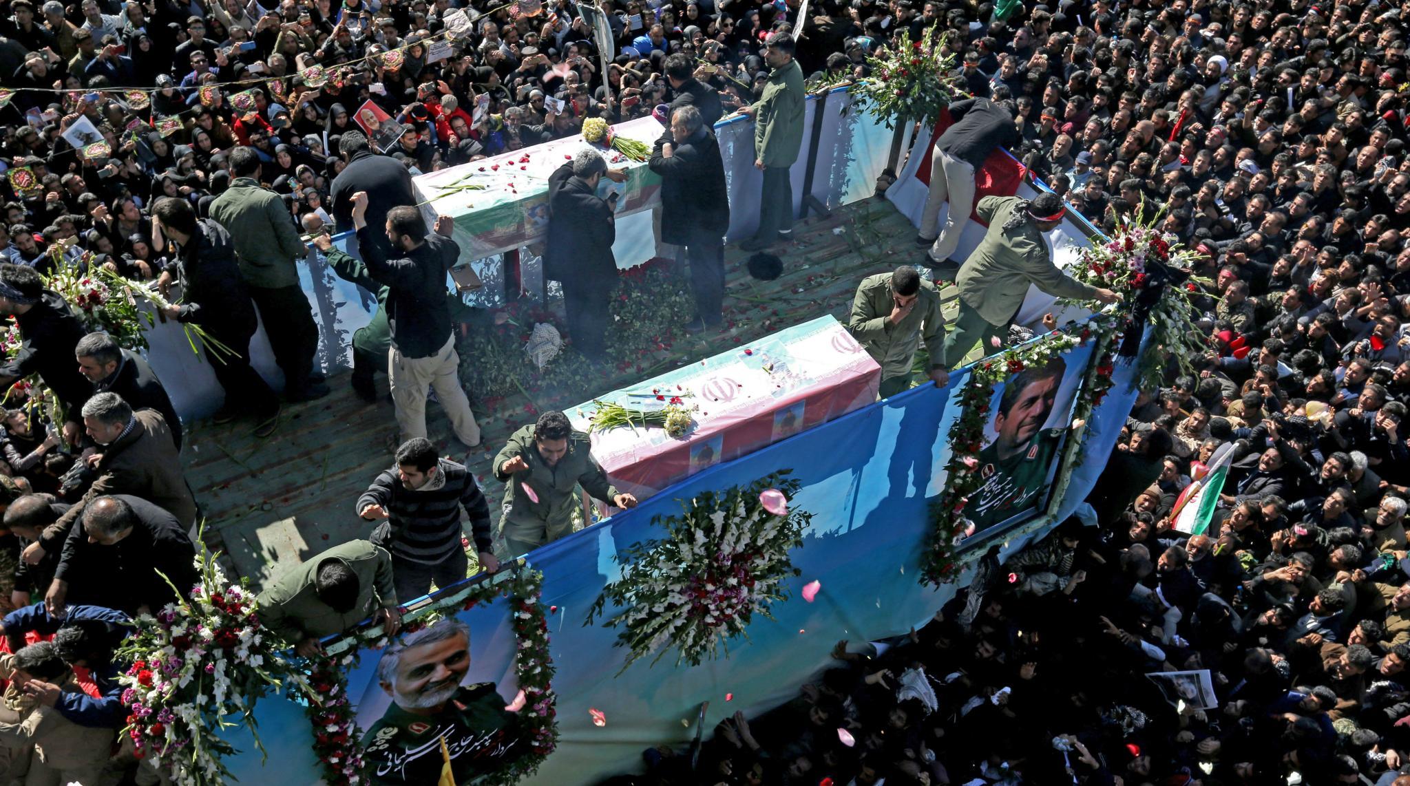 Iran Stampede Kills 32 at Funeral for General Qasem Soleimani Killed by US