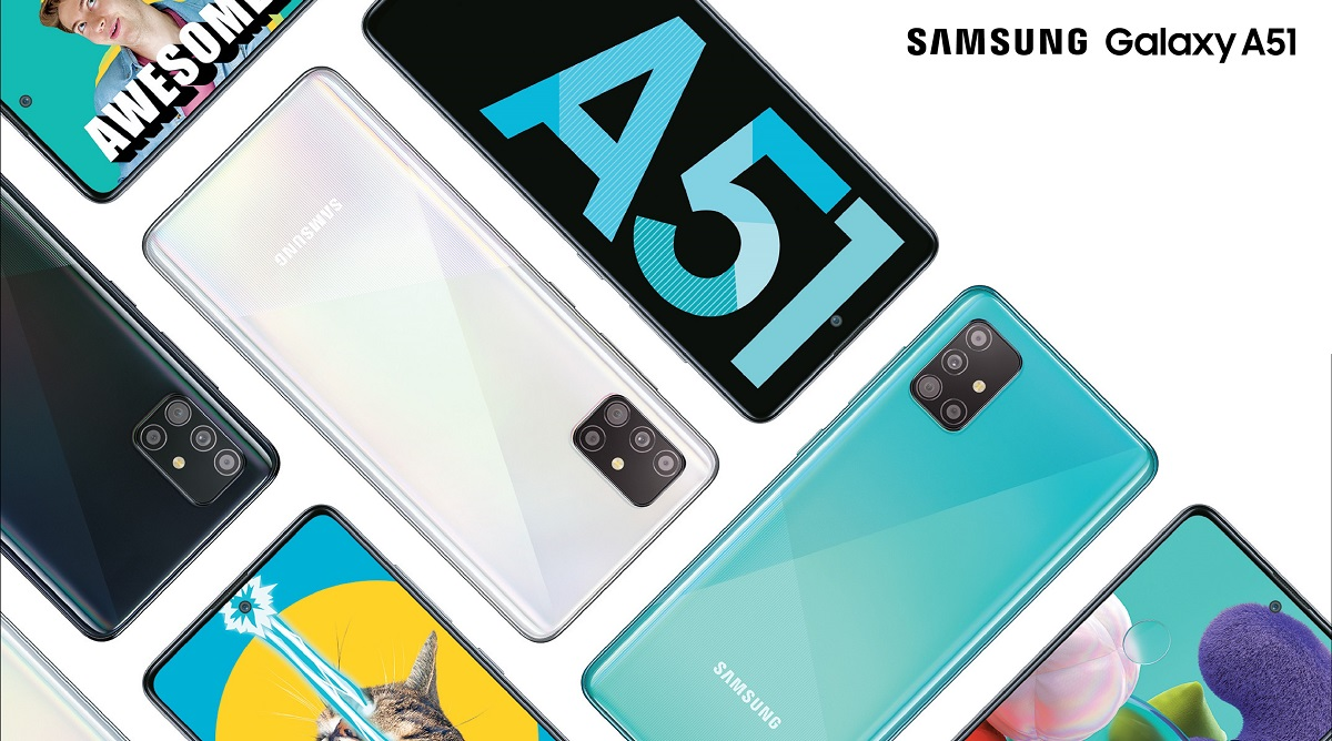 Samsung Galaxy A51 Smartphone With Infinity-O Super AMOLED Display & 6GB of RAM Launched; Priced in India at Rs 23,999