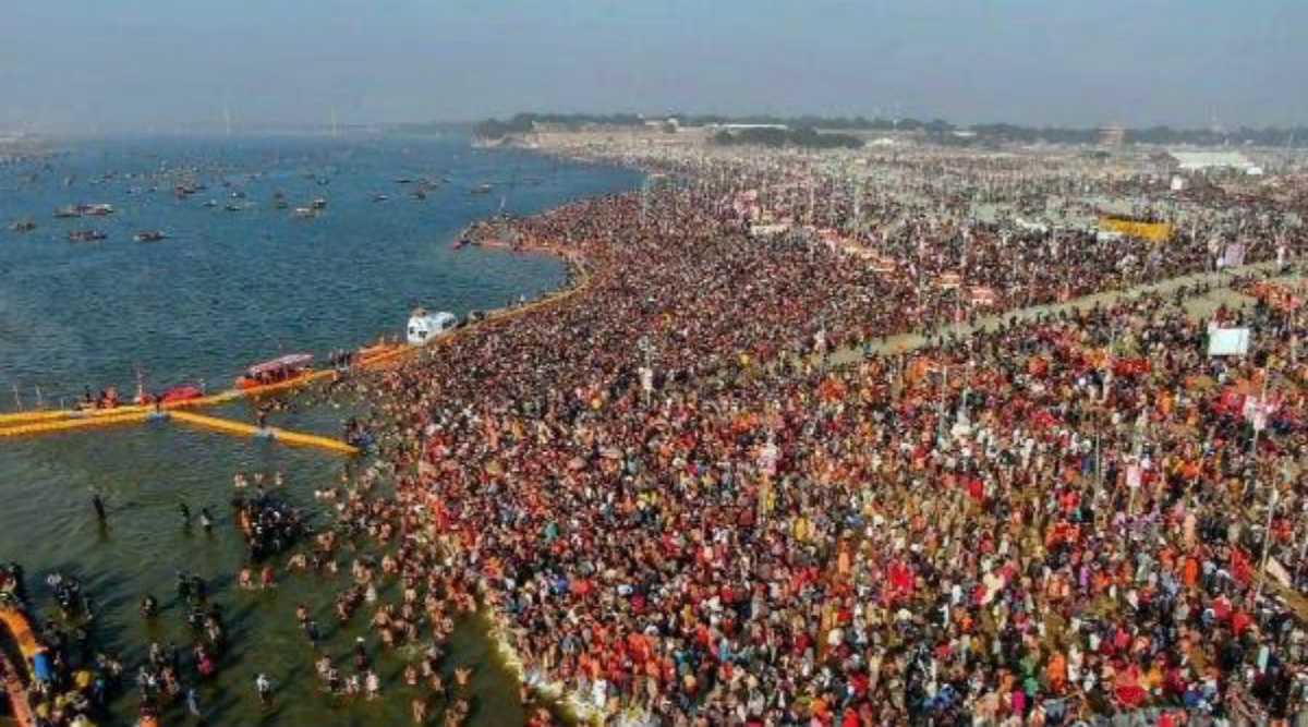 Gangasagar Mela 2020: Lakhs of Pilgrims Take Holy Dip on Makar Sankranti